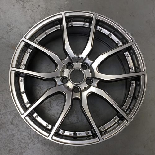 Wheel after process complete
