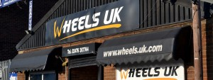 Front of Wheels UK shop