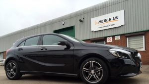 Car photo out the front of our Wheels UK shop